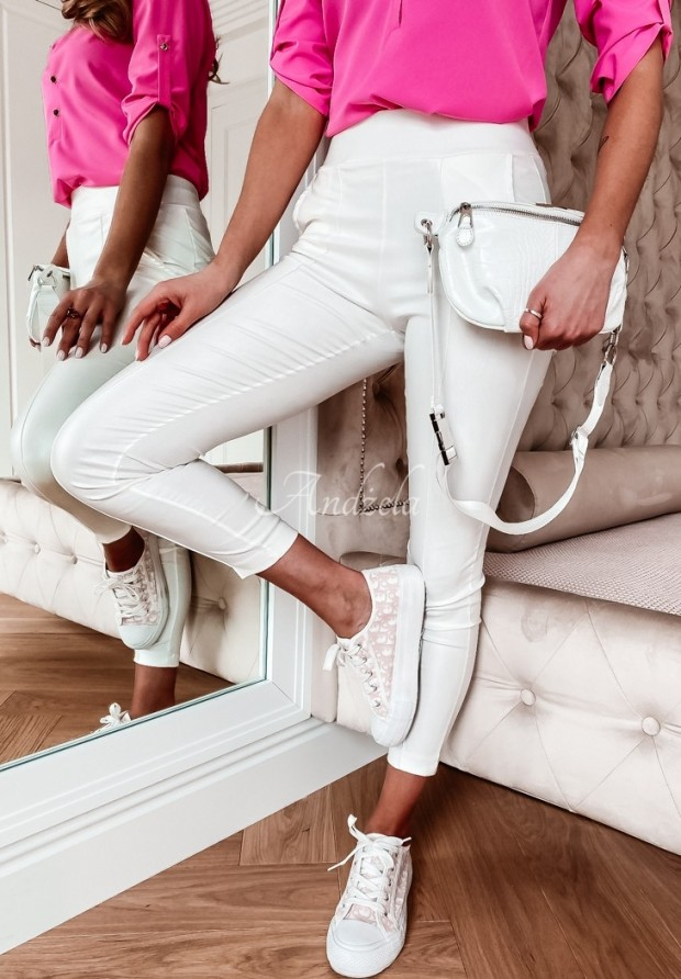 Spodnie Belemi Ecru