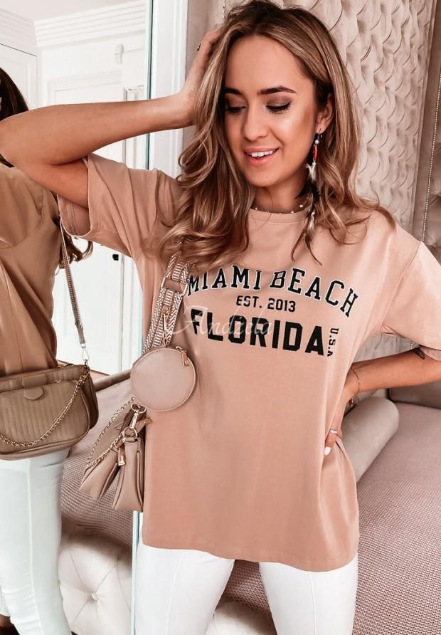 T-shirt Favera Camel