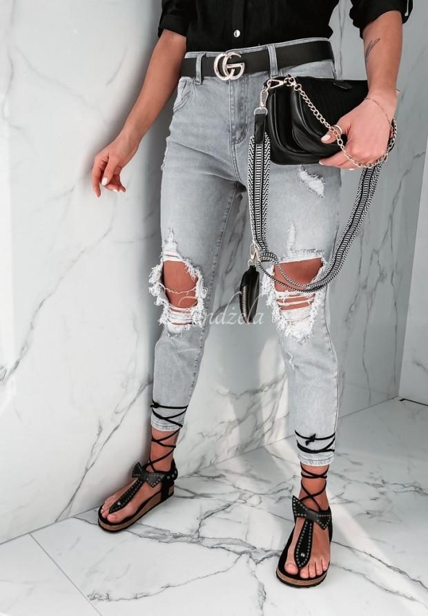 Spodnie Jeans Bolorra Grey