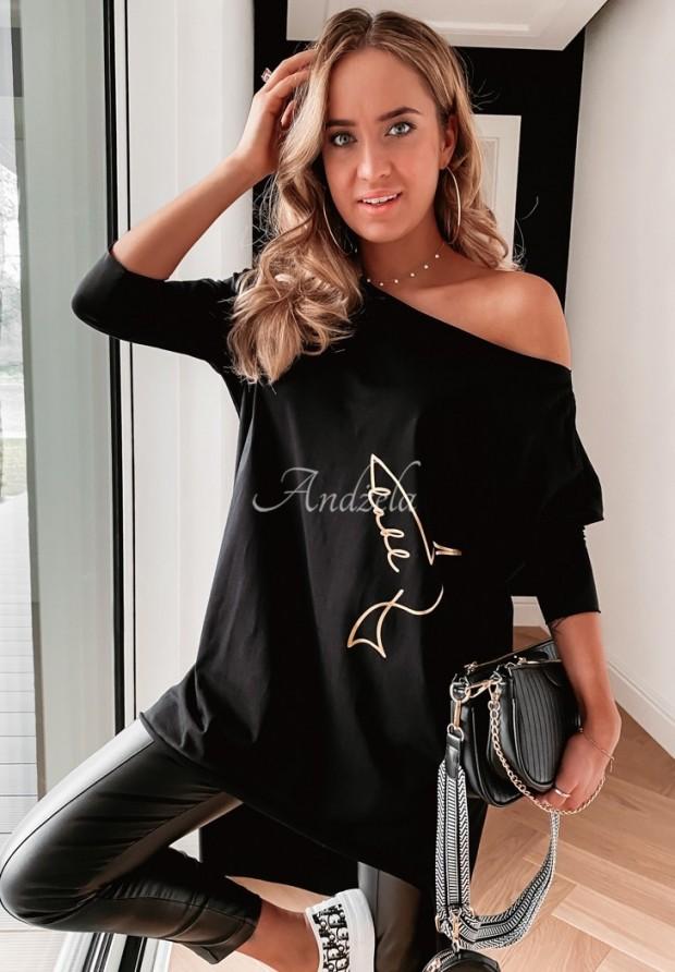 Bluzka Tunika Sevira Black