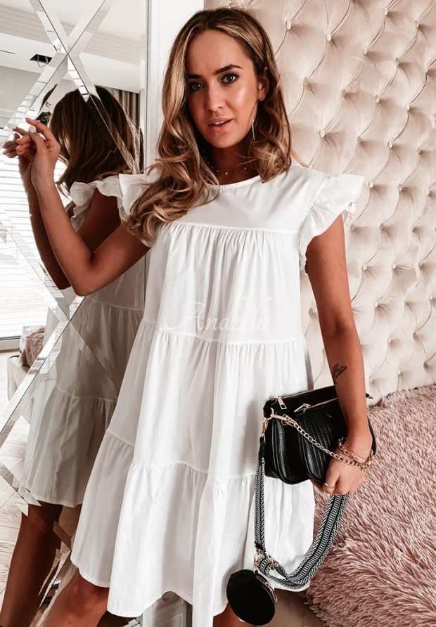 Sukienka Gerea White
