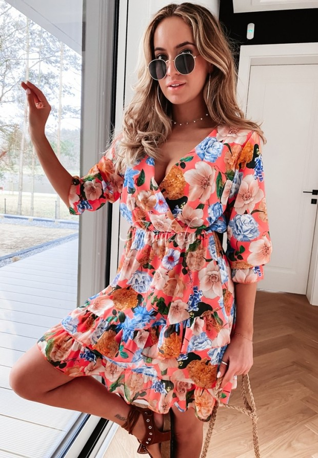 Sukienka Nejra Peach