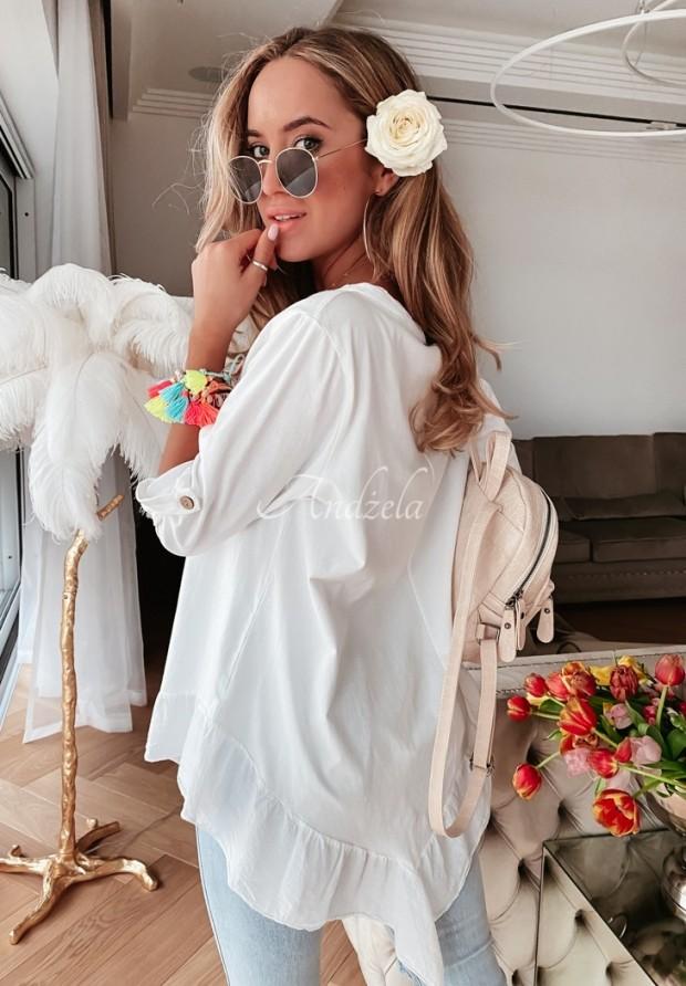 Bluzka Tunik Dagromis White