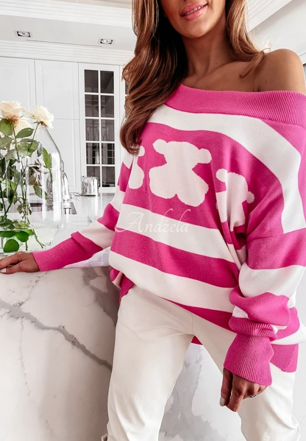 Sweter Cocomore Orso Pink