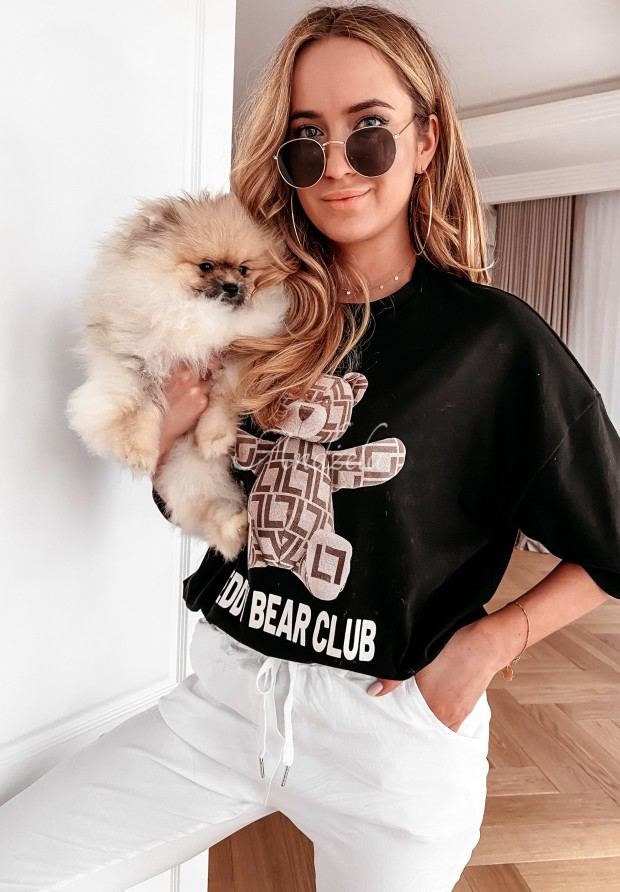 T-shirt Teddy Club Black