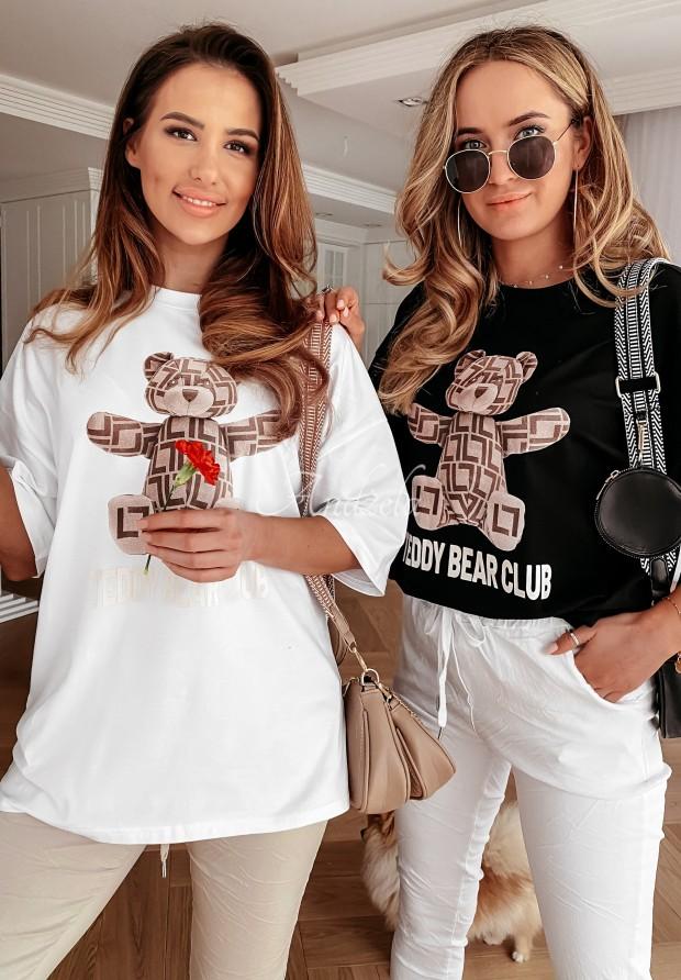 T-shirt Teddy Club White