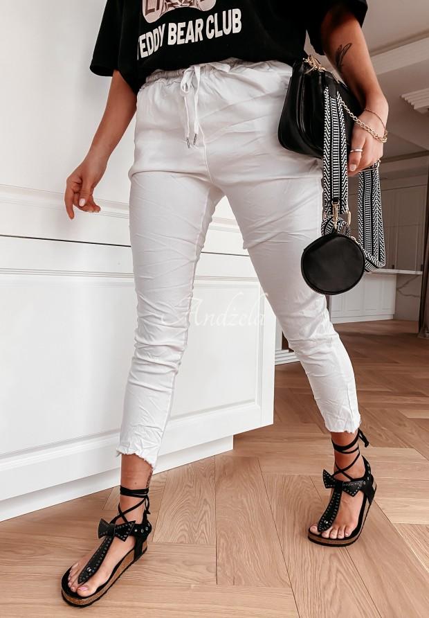 Spodnie Mostello White