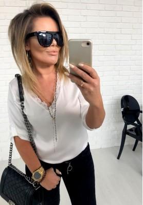 Bluzka Carina White