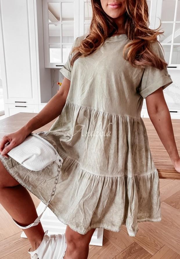 Sukienka Legeria Khaki