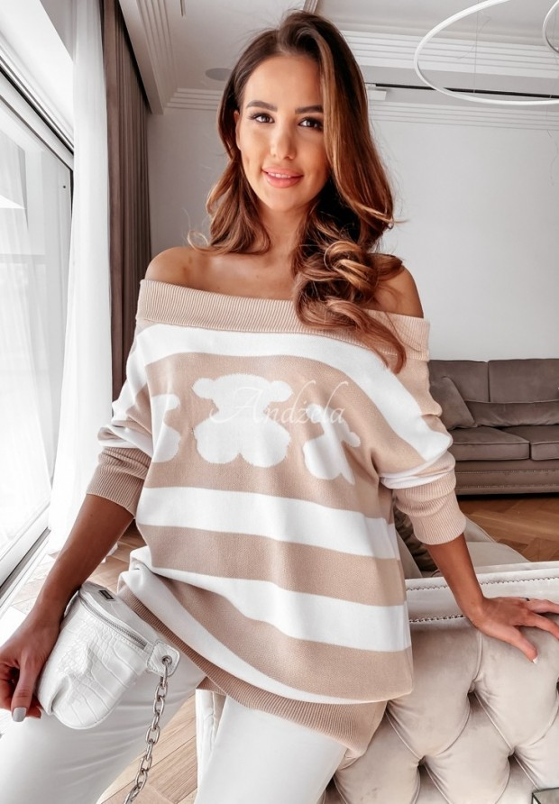 Sweter Cocomore Orso Nude
