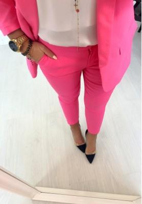 Spodnie Cygaretki Premium Fuksja