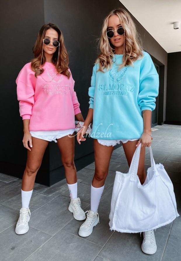 Bluza Oversize Moritz Turquoise