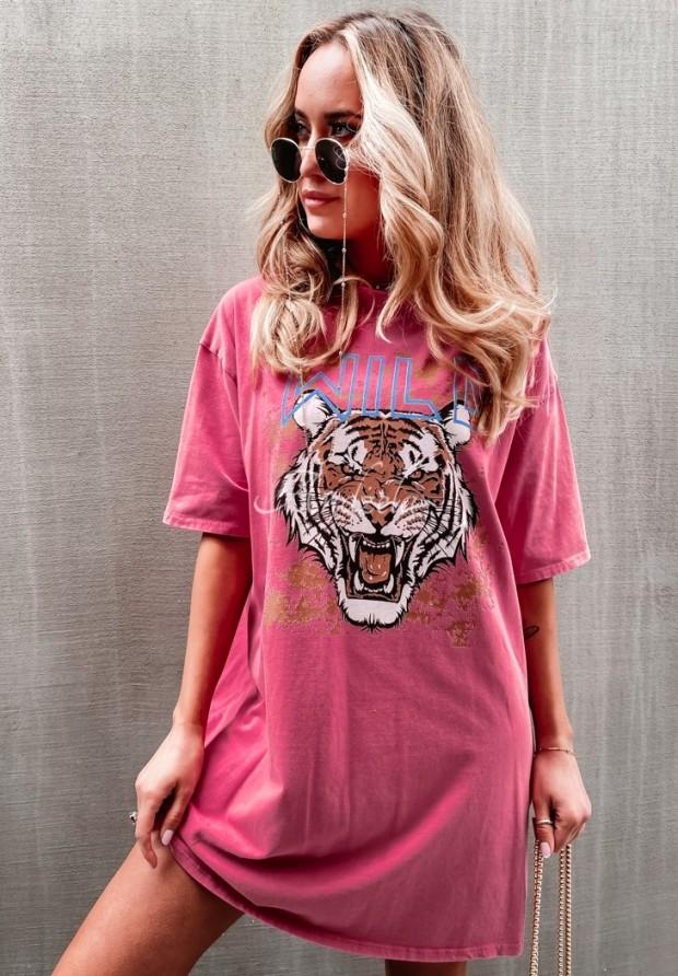 Bluzka Tunika Wild Pink