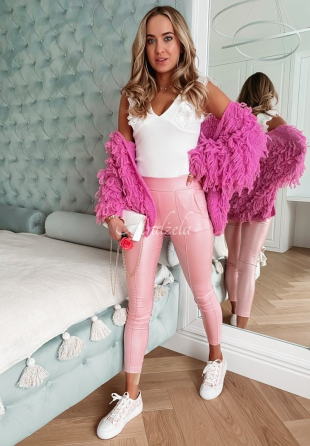 Spodnie Belemi Light Pink