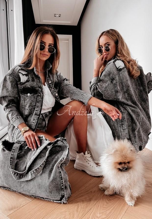 Kurtka Katana Jeans Adour Grey