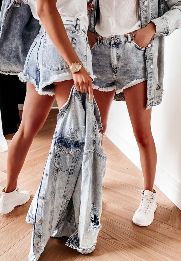 Shorty Jeans Ilinois Blue