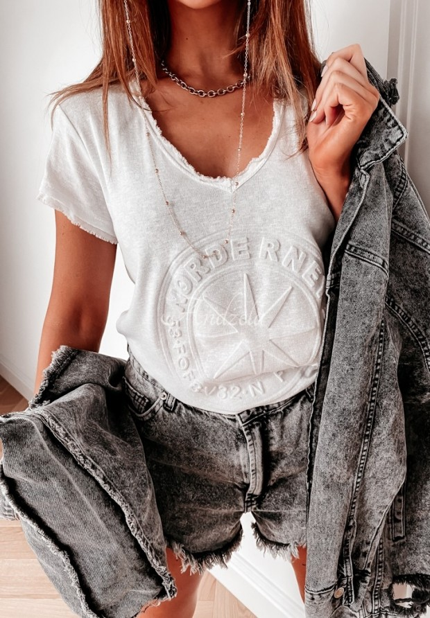 T-shirt Norde White
