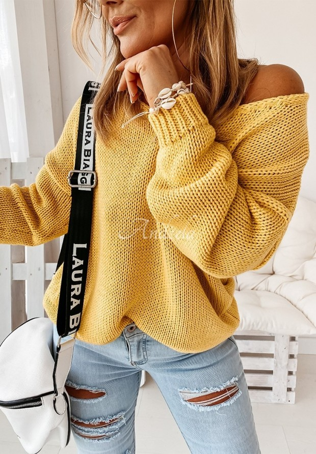 Sweter Feel Yellow
