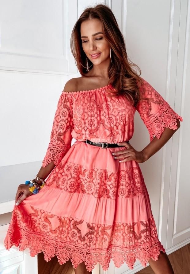 Sukienka Boho Inilla Coral