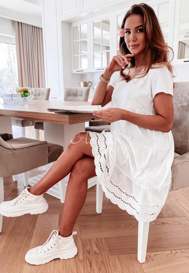 Sukienka Laos White