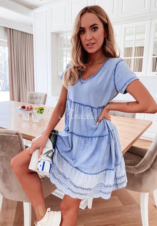 Sukienka Laos Blue