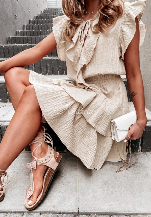Sukienka Nerissa Nude