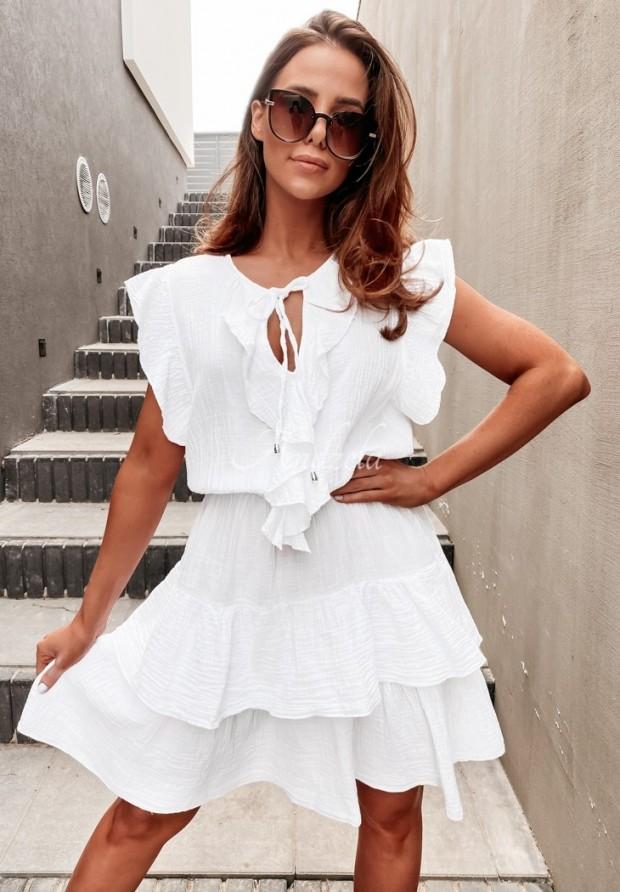 Sukienka Nerissa White