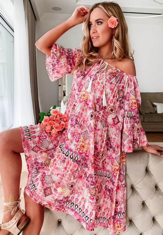Sukienka Brigitta Pink