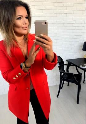 Płaszcz Mariott Czerwony