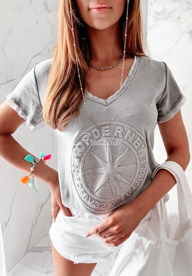T-shirt Norde Grey
