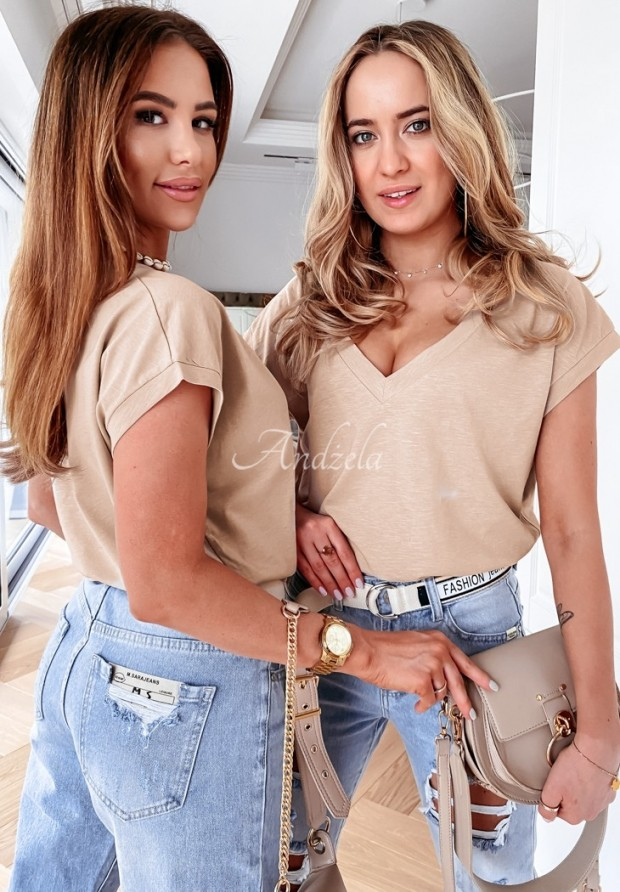 T-shirt Addison Beige