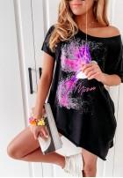 Bluzka Tunika Coliber Black