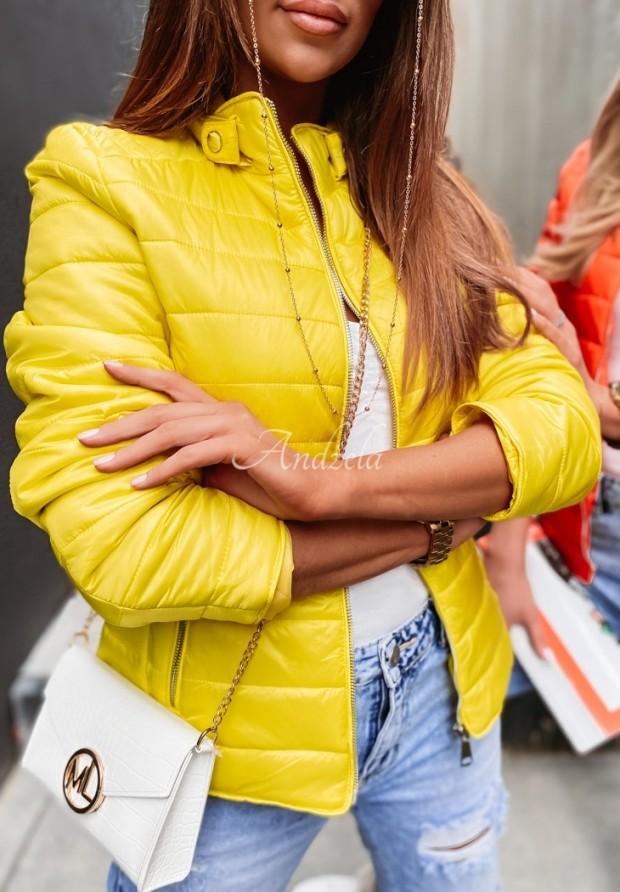 Kurtka Aurinia Yellow