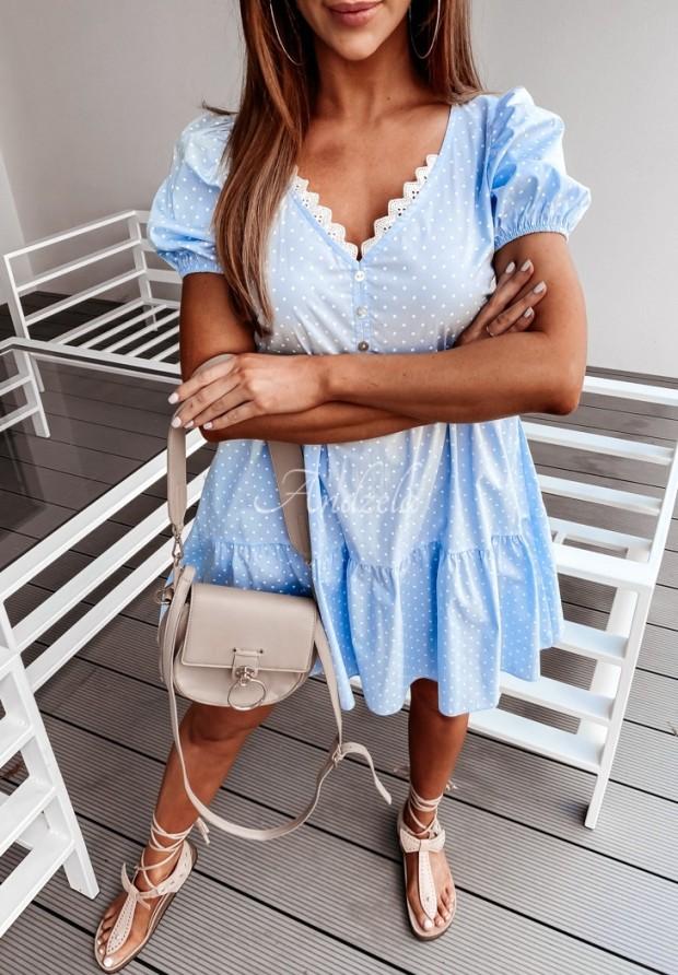 Sukienka Cabrilla Dots Blue