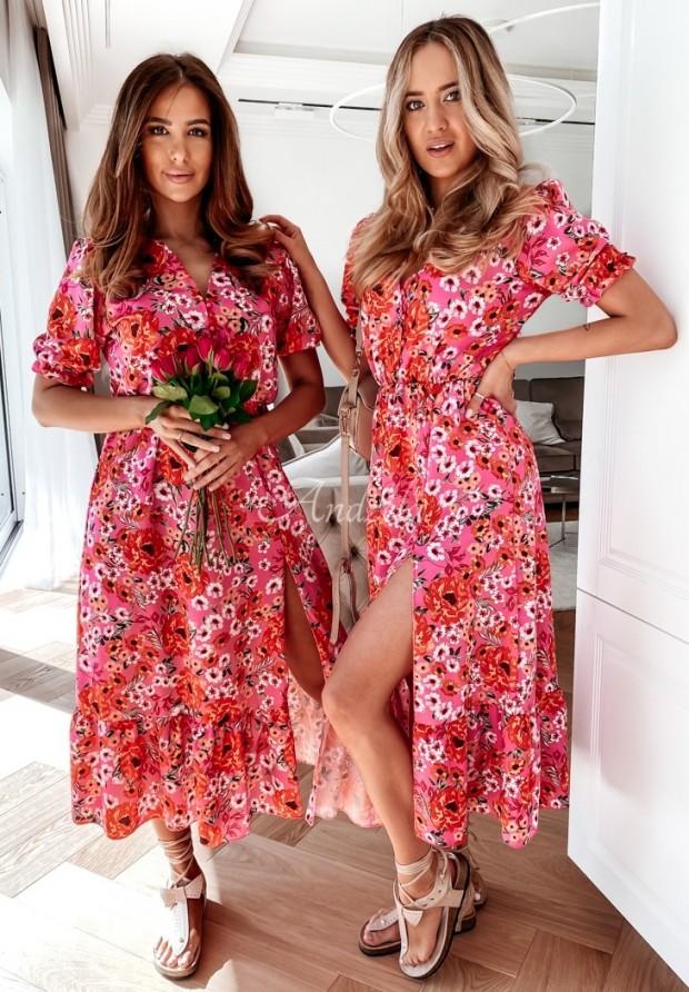 Sukienka Minella Pink