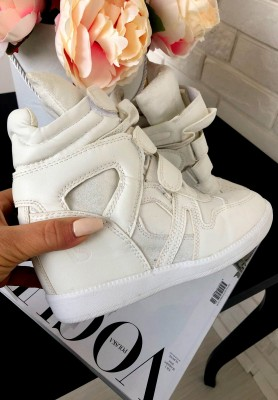 1409-41 Sneakersy Isabell White