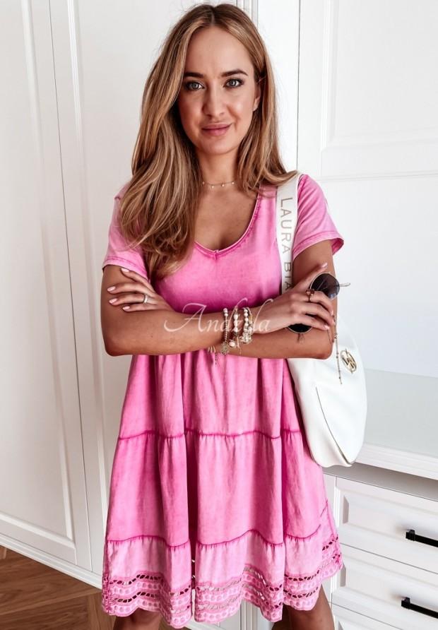 Sukienka Laos Pink