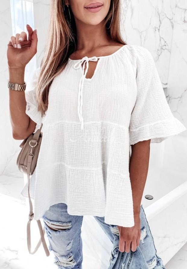 Bluzka Jolly White