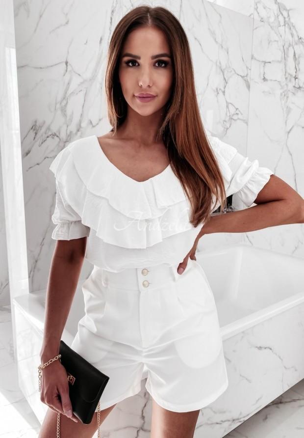 Bluzka Hiszpanka Lalande Ecru