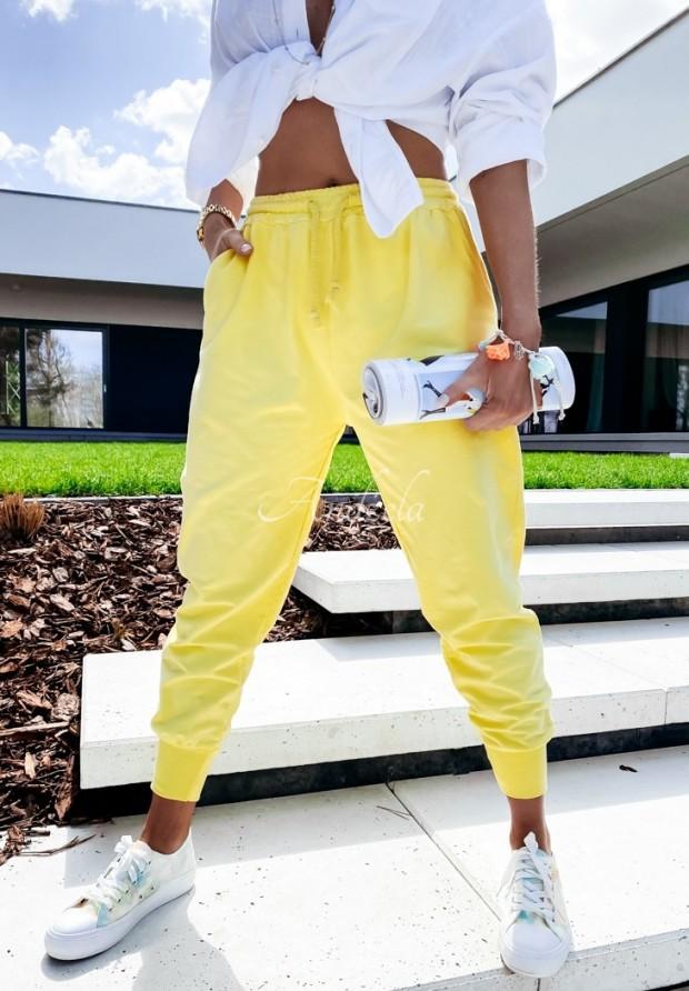 Spodnie Dresowe Savoia Yellow