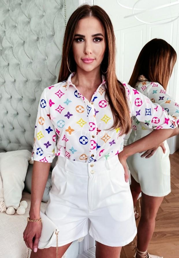 Koszula Lou Color White
