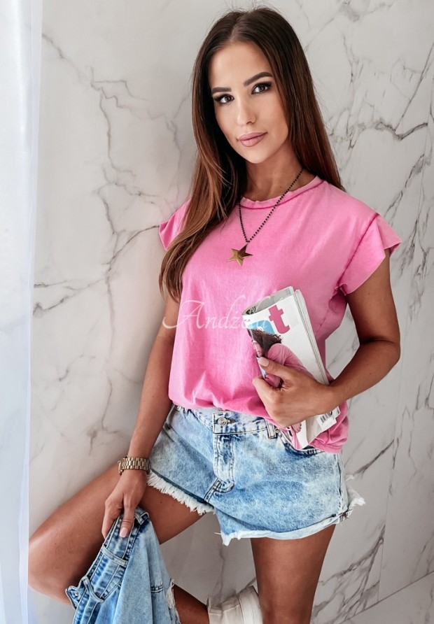 T-shirt Dreyer Pink
