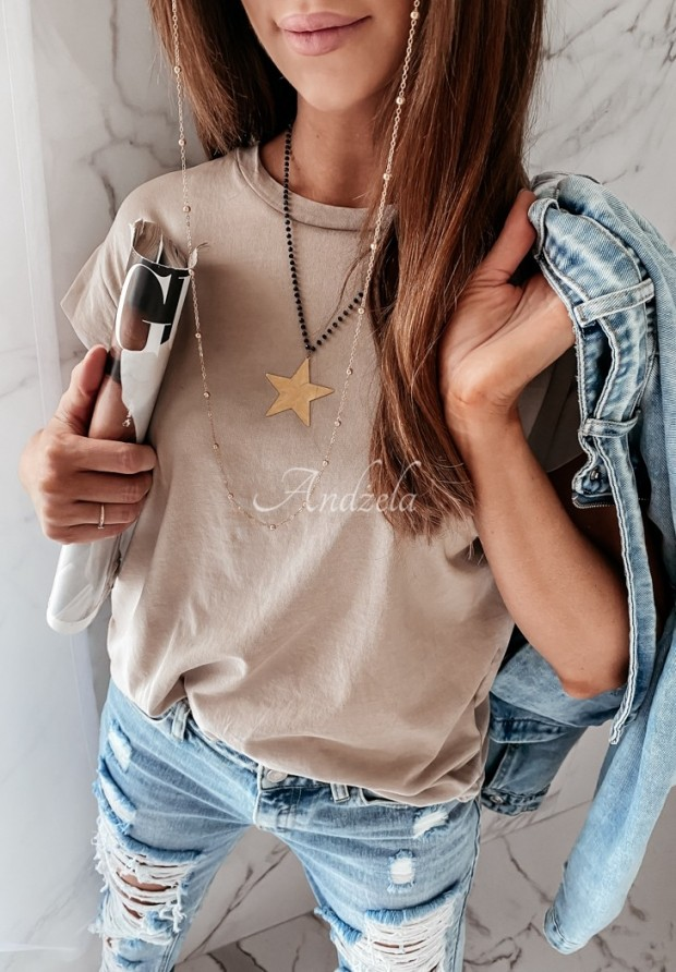 T-shirt Dreyer Beige