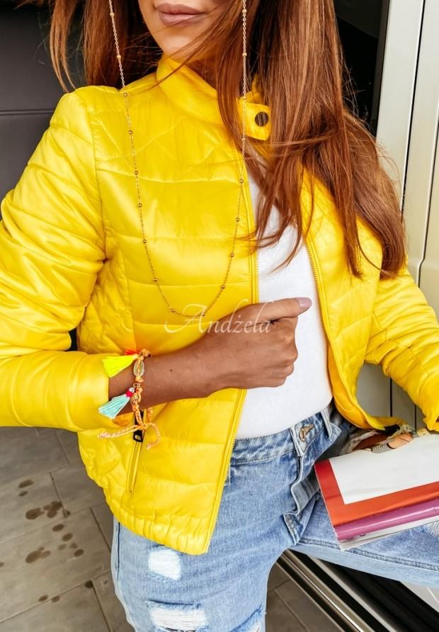 Kurtka Bomberka Mensa Yellow