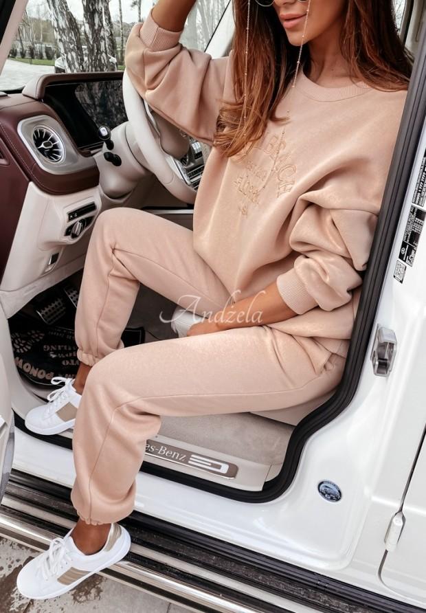 Spodnie Dresowe Miami Beige