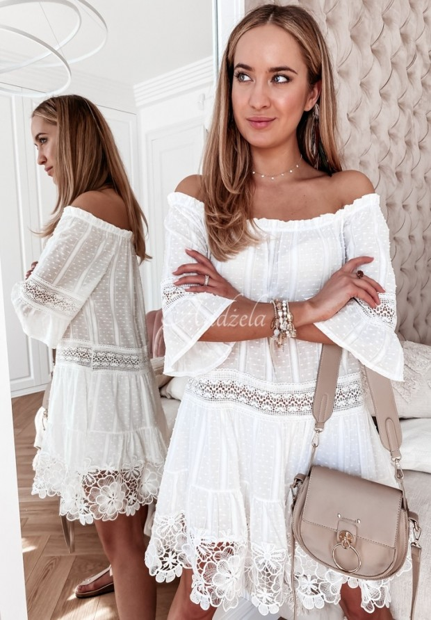 Sukienka Hiszpanka Donna White