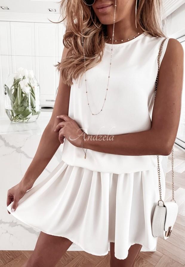 Sukienka Clarssa Ecru
