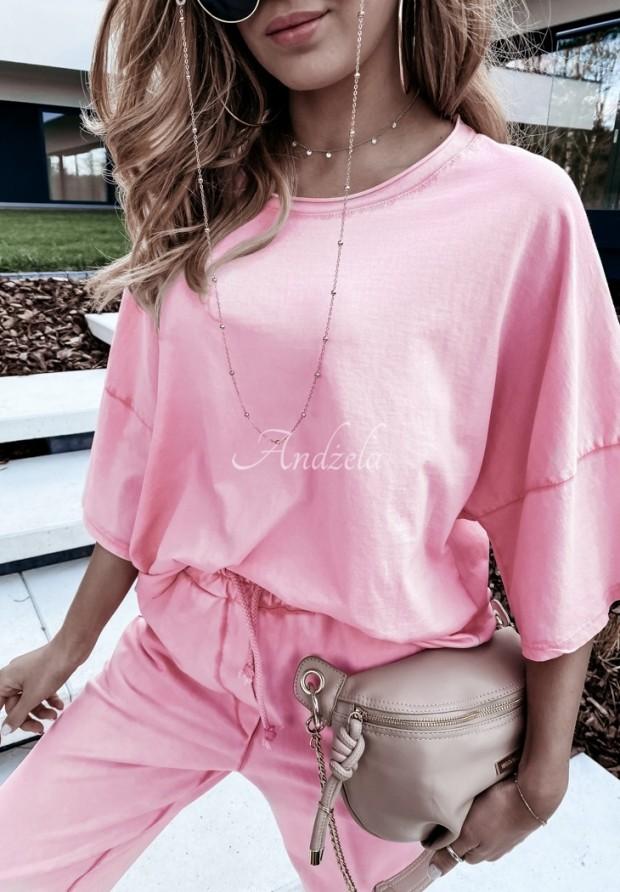 Bluzka Oversize Primma Pink
