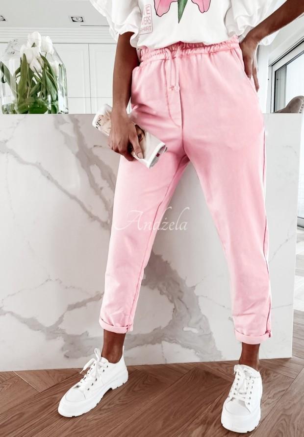 Spodnie Dresowe Lili Pink