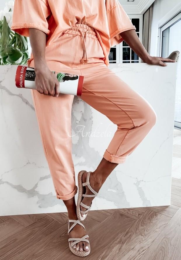 Spodnie Dresowe Lili Orange